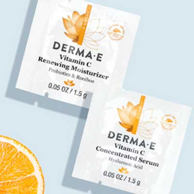 Free Derma E Vitamin C Serum and Moisturizer