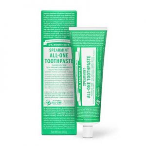 Free Dr. Bronner's Toothpaste from Moms Meet