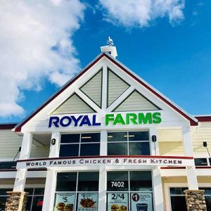 Free Meal at Royal Farms