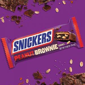 Free Snickers Peanut Brownies