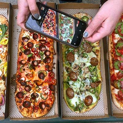 Free Pizza at &Pizza