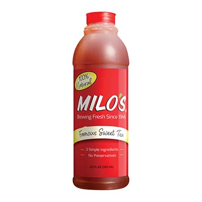 Free Milo's Tea or Lemonade Coupon