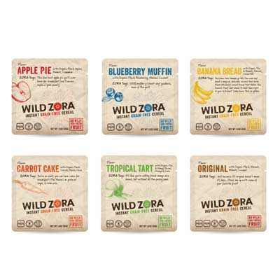Free Wild Zora Instant Cereals from Social Nature