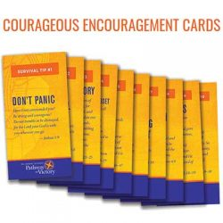 Free 10 Pack of Courageous Encouragement Cards