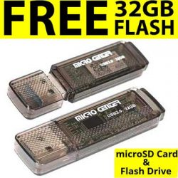Free 32 GB Flash Drive and MicroSD Card at Micro Center