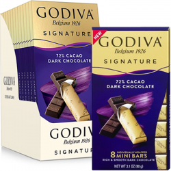 Free Godiva Signature Dark Chocolate Mini Bars
