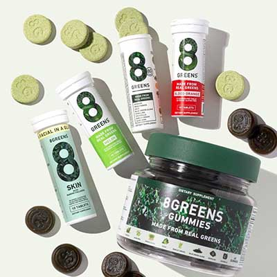Free 8Greens Effervescent Tablet