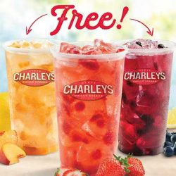 Free Drink at Charleys