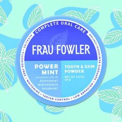 Free Frau Fowler Tooth Powder