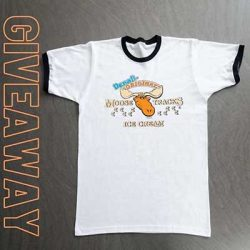 Free Moose Tracks Ice Cream T-Shirt for Winner