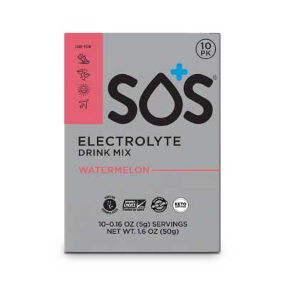 Free SOS Electrolyte Drink Mix from Social Nature