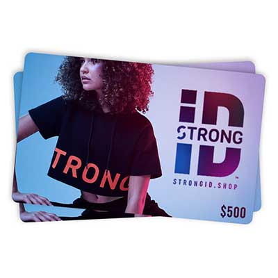 Free $100 Strong ID Gift Card for Winners