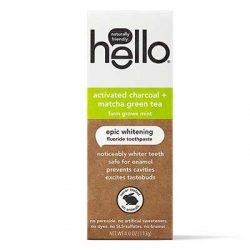 Free Hello Charcoal+Matcha Toothpaste for Referring