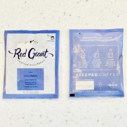 Free Red Giant Steeped Coffee Bags