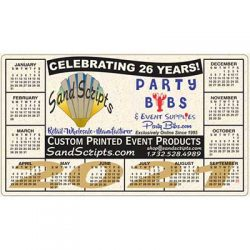Free Sand Scripts 2021 Magnetic Calendar