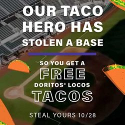 Free Doritos Locos Tacos at Taco Bell
