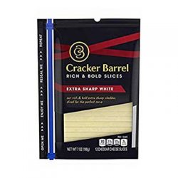 Free Cracker Barrel Sliced Cheese at Publix