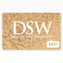 Free $100 DSW Gift Card for Winners