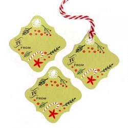 Free Set of Holiday Gift Tags