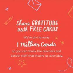 Free Hallmark Gratitude Cards
