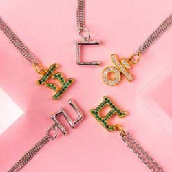 Free Korean Letter Necklace from 08liter