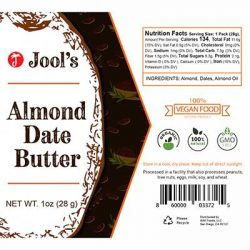 Free Jool Almond Date Butter Squeeze, Just Pay Shipping