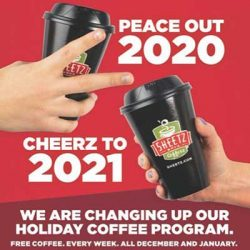 Free Coffee Weekly at Sheetz
