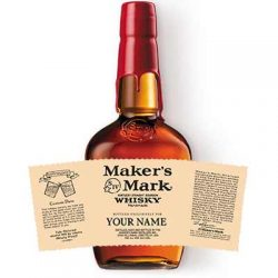 Free Maker's Mark Personalized Bottle Labels