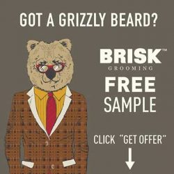 Free Brisk Groomin Beard Butter and Styling Balm