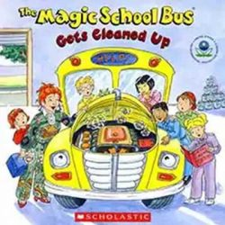 Free The Magic School Bus Gets Cleaned Up Book