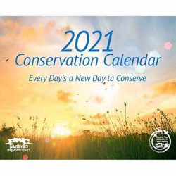 Free 2021 PWC Conservation Wall Calendar