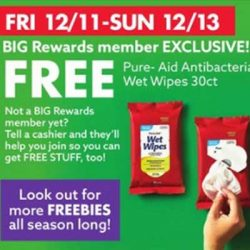 Free Pure-Aid Wipes and More at Big Lots