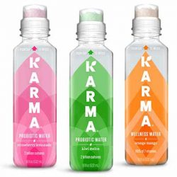 Free Bottle of Karma Wellness Water or Karma Probiotic Water