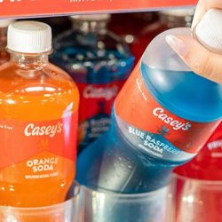 Free Soda at Casey's