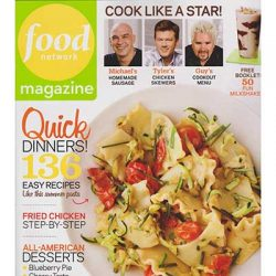 Free 2-Year Subscription to Food Network Magazine