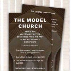 Free The Model Church Bookmark