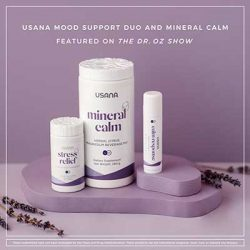 Free Usana Stress Relief Supplement