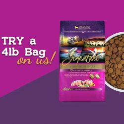 Free Zignature Zssential Dog Food Coupon