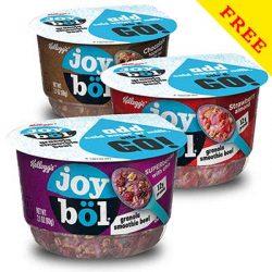 Free Case (Includes 6 Bowls) of Joyböl