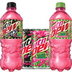 Free Mountain Dew Major Melon or Melon Zero