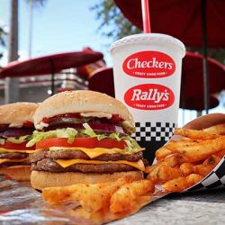 Free Burger or Sandwich at Checkers