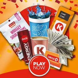 Free Circle K Coffee, Hot Dog and More for Winners