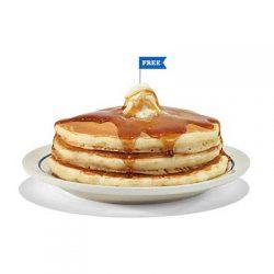 Free Stack of Pancakes at IHOP