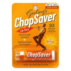 Free ChopSaver Lip Balm and Keychain for Video Review