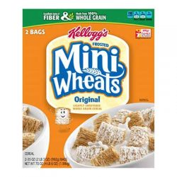 Free Kellogg's Frosted Mini Wheats or Raisin Brans