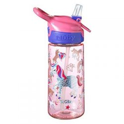 Free Nuby Unicorn Glitter Water Bottle for Reviewers