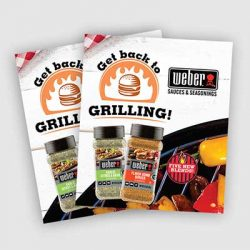 Free Weber Seasoning Recipe Book from Freeosk