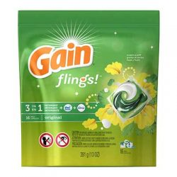 Free Gain Flings Laundry Detergent from Freeosk