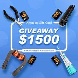 Free Atmoko Healthcare Product for Winners