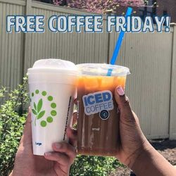 Free Coffee at Cumberland Farms in June